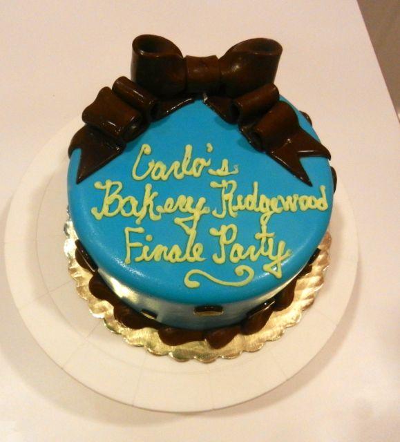 Carlo's Bakery Cake Boss Summer Finale Party Cake!