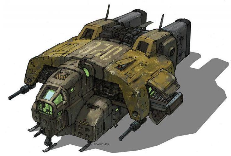 concept ships: Francis Tsai concept ships