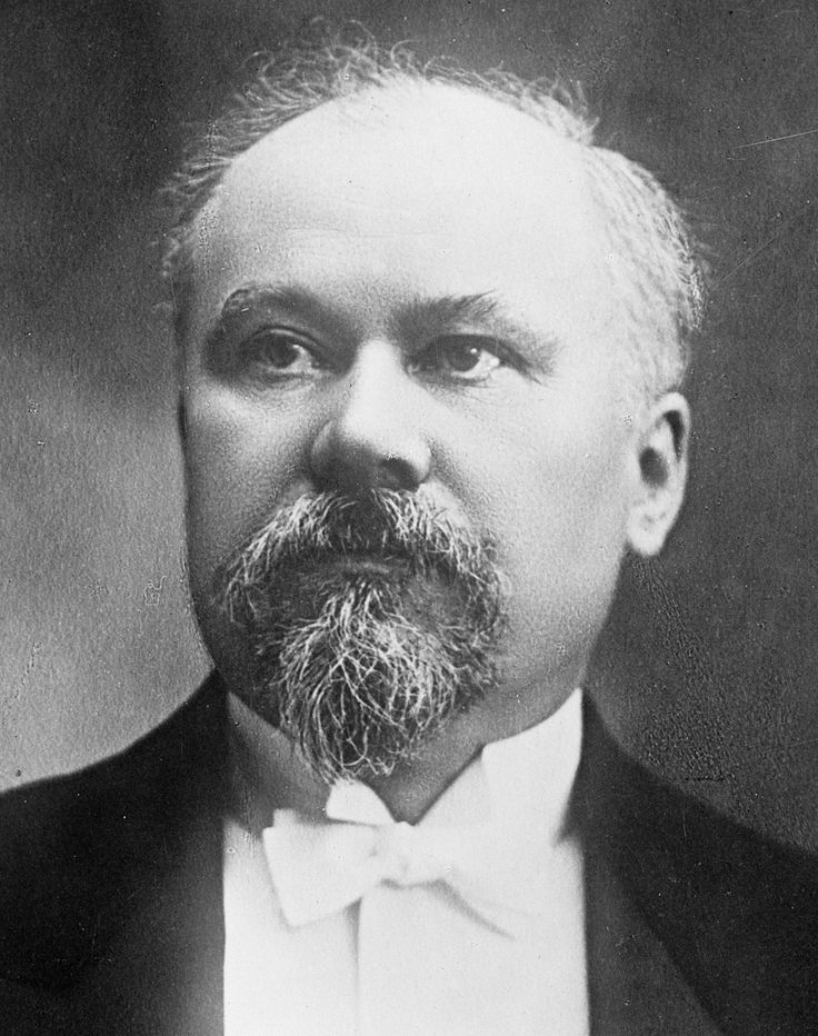 Picture of Raymond Poincare who represented France in the Triple Entente.