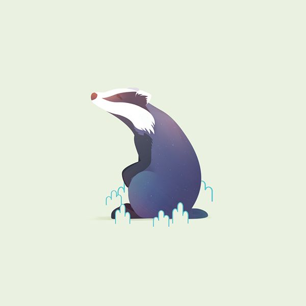 """Check out new work on my @Behance portfolio: """"Animal Minis vol. 1"""" http://be.net/gallery/46942607/Animal-Minis-vol-1"""