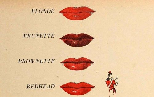 Which 1940s Lipstick Type are You?                                                                                                                                                      More
