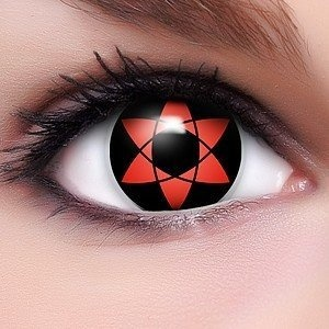 Farbige Anime Crazy Fun Kontaktlinsen 'Sharingan Uchiha Sasuke's Mangekyou' mit gratis Linsenbehälter Topqualität von Lenzera, http://www.amazon.de/dp/B0055LX0JW/ref=cm_sw_r_pi_dp_72Mcrb0CKHGY4