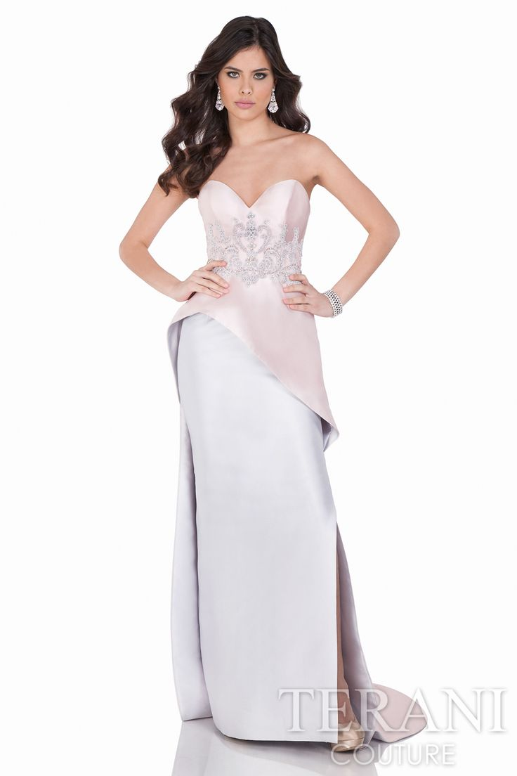Vintage inspired evening dresses by terani couture embellished