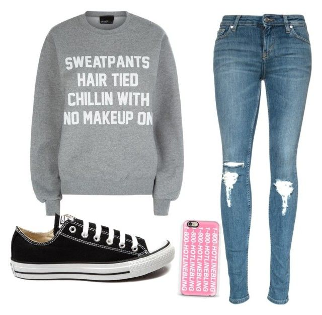"""Adam Lavigne+Drake"" by whitegirl2001 ❤ liked on Polyvore featuring Private Party, Converse, Casetify, women's clothing, women, female, woman, misses and juniors"