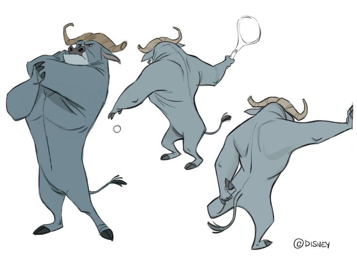 Borja Montoro Character Design: Zootopia V Bogo Calisthenics. I was sent the concept drawing of Bogo, full body, along with a sheet full of amazing facial expressions, both made by Cory Loftis, and had to take him to the gym to put him on movement. That's what Cory would call doing calisthenics. I did some during that year.