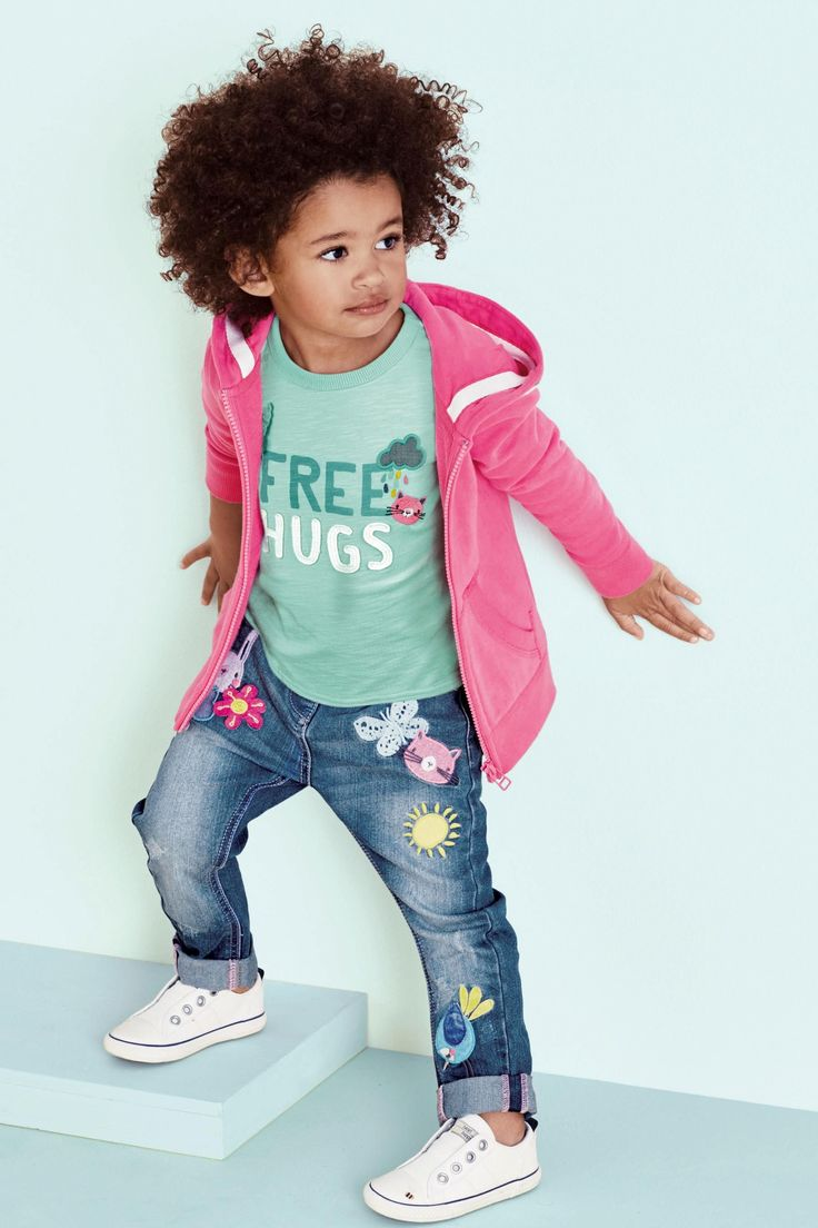 Buy Pink Zip Through Hoody (3mths-6yrs) from the Next UK online shop