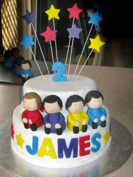 Wiggles cake.  Happy birthday Jimmy!!