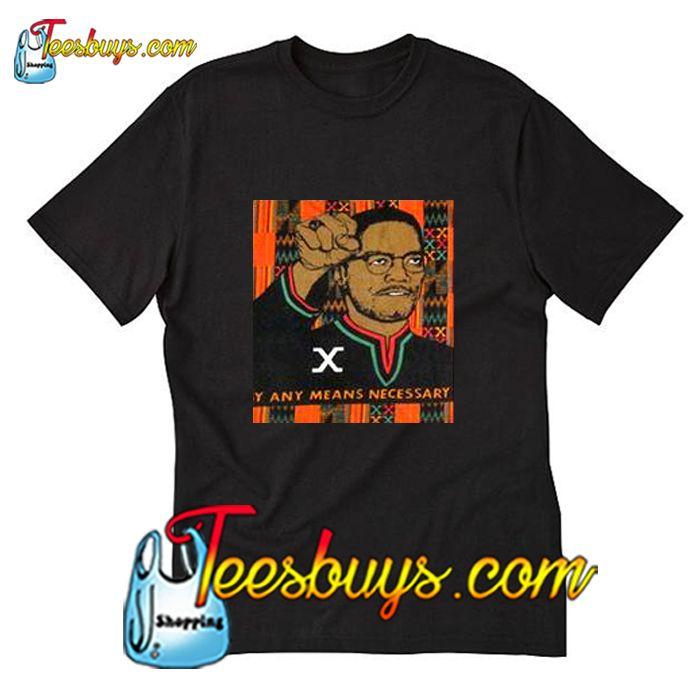 Vintage Malcolm X T Shirt Pj Shirts T Shirt Shirt Style