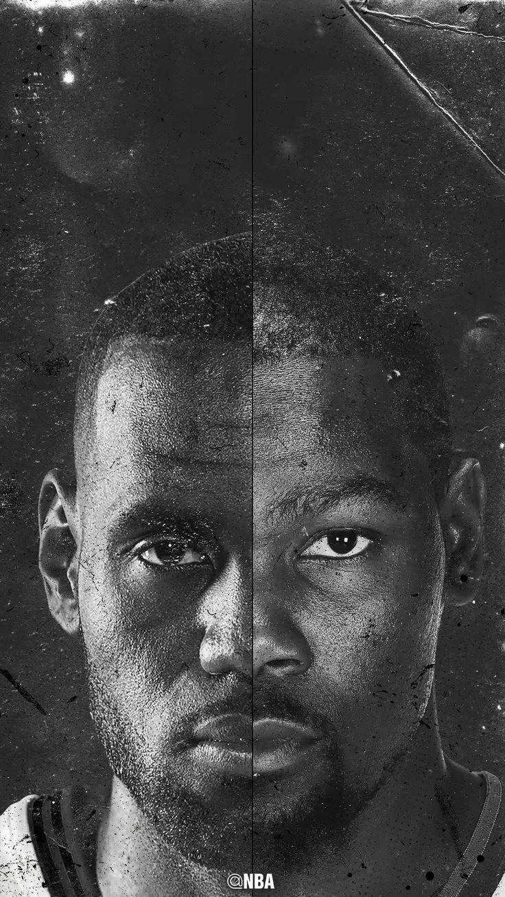 NBA wallpaper Lebron James and Kevin Durant