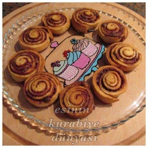Esin'in Kurabiye Dünyası: Tarçınlı Rulolar (Cinnamon Rolls)