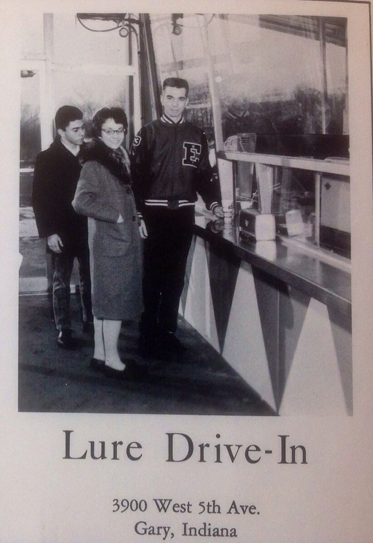 """""""THE LURE"""" A Neighborhood Hamburger Place in Gary, Indiana in the Late 1950s- 60s. I had to put this on my """"Edison Board"""".... It's part of Brunswick! ( Reflector Sponsor )"""