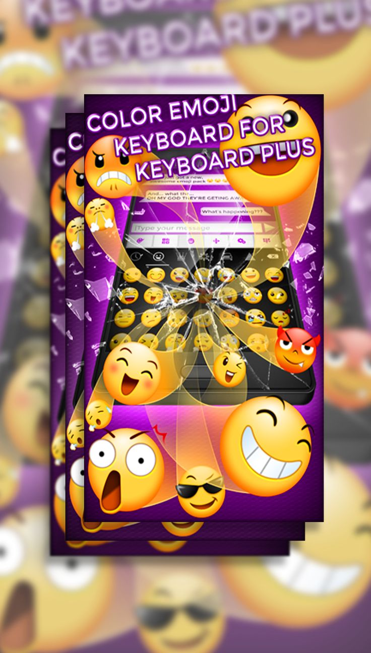 Express yourself better with this amazing Color Emoji Keyboard!