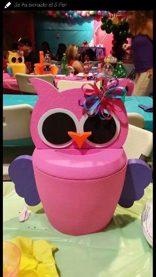 Owl hieleras