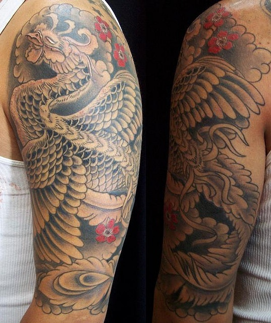 Colored Sleeve Tattoo Of Birds: 17 Best Ideas About Bird Tattoo Sleeves On Pinterest