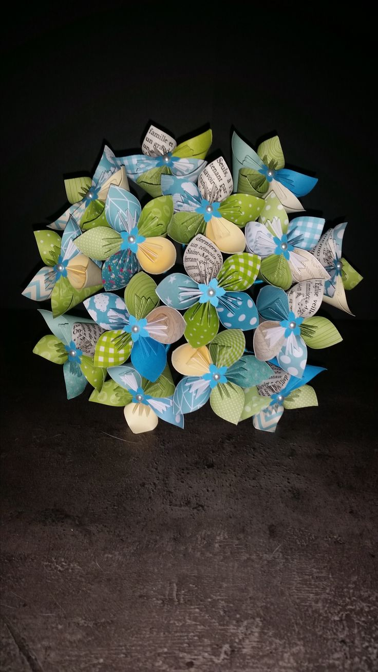 Fabuleux 544 best kusudama images on Pinterest | Paper flowers, Origami  GS92