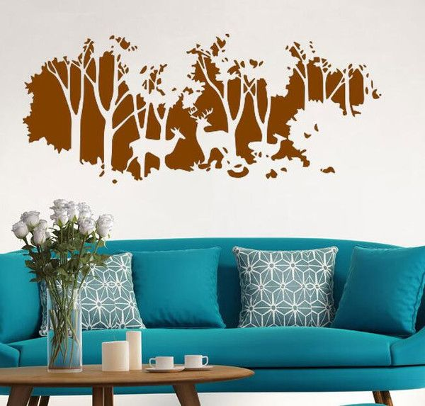 Product Description: Vinyl Removeable Wall Sticker Effect Size :23.6*54.7 Inch / 60*139 CM Note: Vinyl wall decals are removable but not re-positionable ! Easy