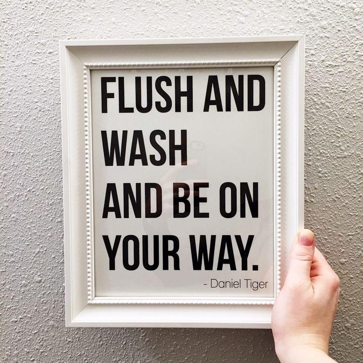 1000 ideas about bathroom printable on pinterest wash brush bathroom wall art and bathroom - Make bathroom shine ...