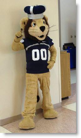 Old Dominion University's mascot