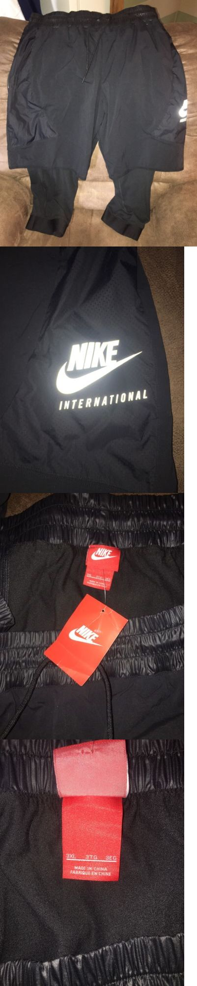 Men Athletics: Nwt Nike International Men S 2-1 Shorts Tights Reflective Flash Black Size 3Xl -> BUY IT NOW ONLY: $59.99 on eBay!