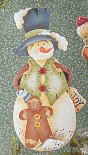 RTP Snowfriends Ronnie by Karen Wisner Fall Freezin 8 | eBay
