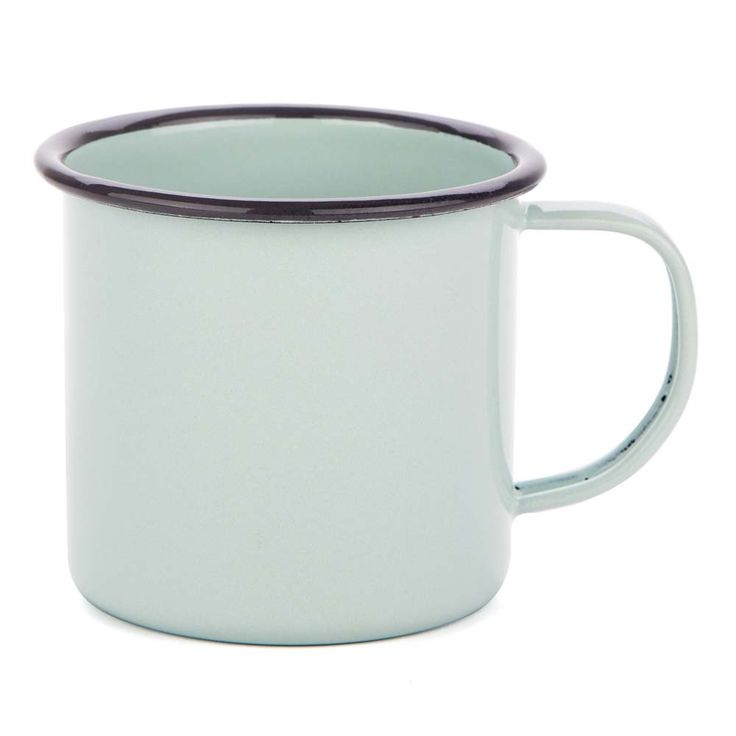 FALCON ENAMELWARE | 350ml Mug - Duck Egg Blue #botanex #botanexstore #qualityproducts #outdoors #camping #glamping #outdoorcooking #consciousshopping