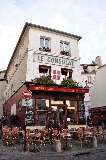 40 best images about le consulat on pinterest gabriel for Restaurant miroir montmartre