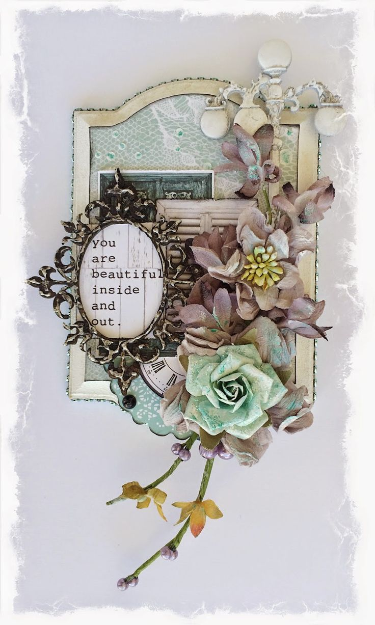 Swirlydoos Scrapbook Kit Club: Distressed Faux Filigree Chipboard Technique with Rae