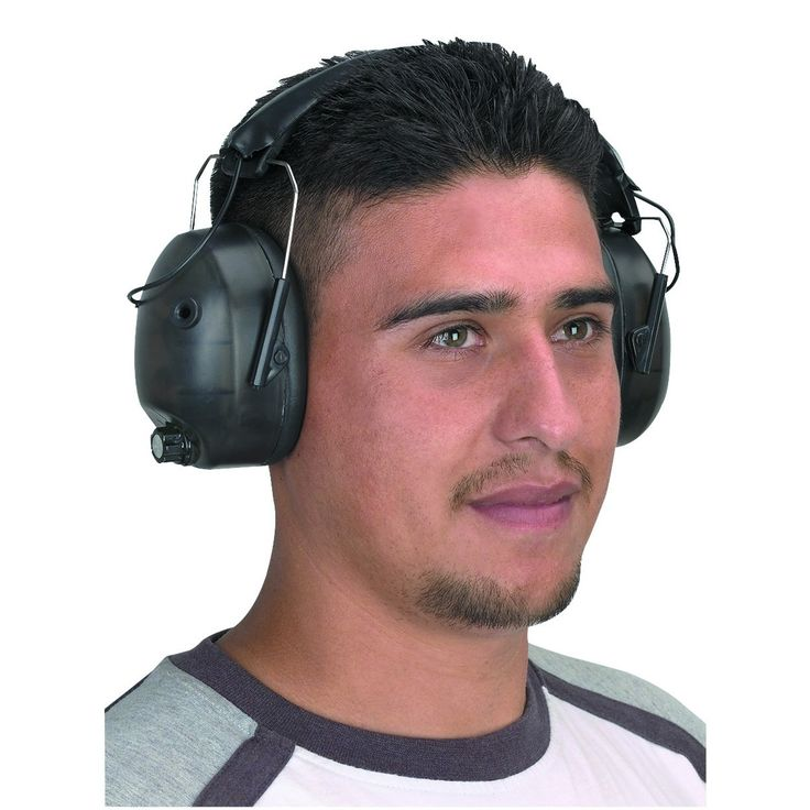 Western Safety 92851 Noise Canceling Electronic Ear Muffs
