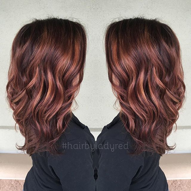 Warm tone hair