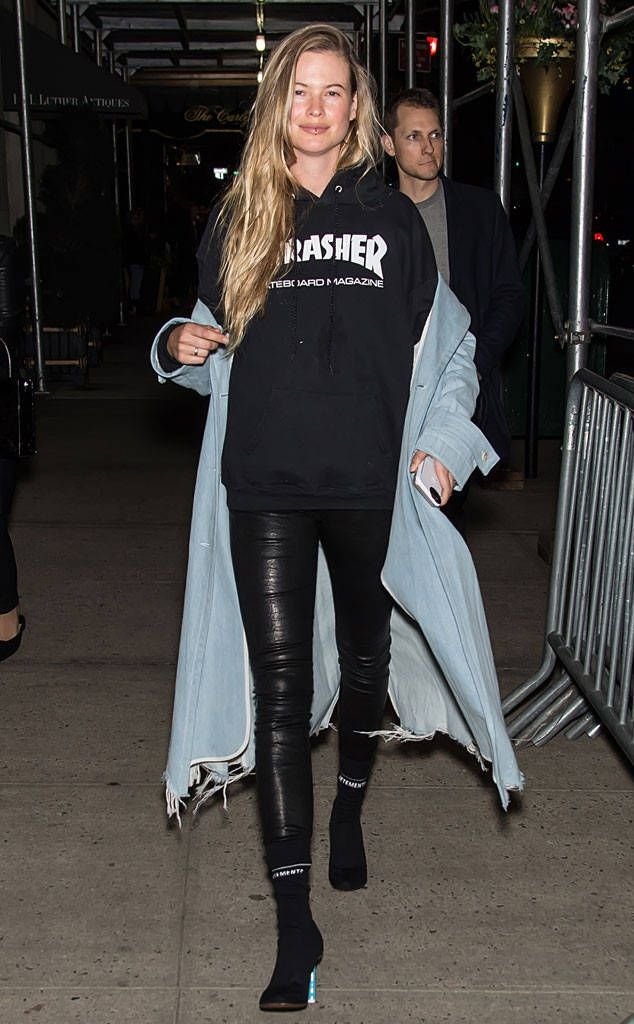Behati Prinsloo from The Big Picture: Today's Hot Photos  Street style! The model is all New York while out and about in the big city.