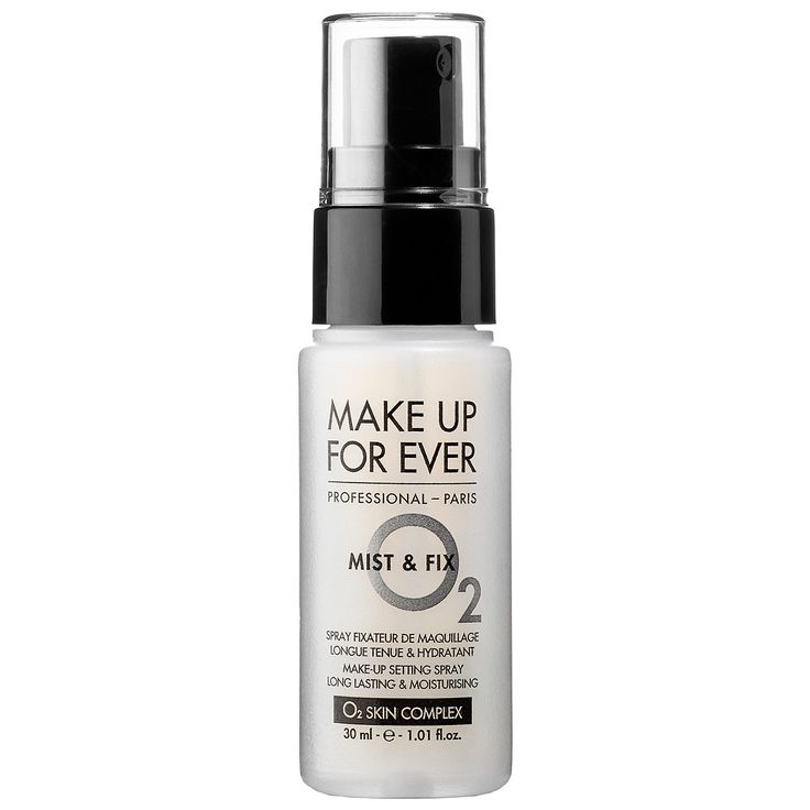 What it is:A universal setting spray that locks in makeup and keeps color fresh.  What it does:A lightweight, non-sticky secret weapon for longer lasting makeup, Mist & Fix creates a sweat-proof, rub-resistant barrier for fresh-looking makeup that