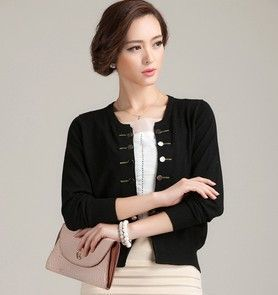new 2016 Women's cashmere cardigan o-neck long-sleeve sweater double breasted cashmere sweater outerwear air women cardigan