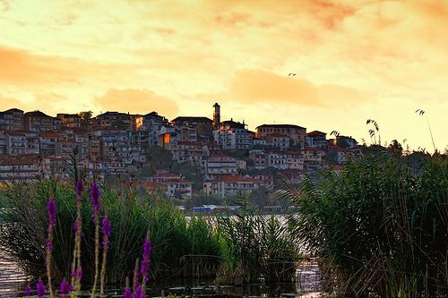 Kastoria, Greece -- where my Yia Yia is from.