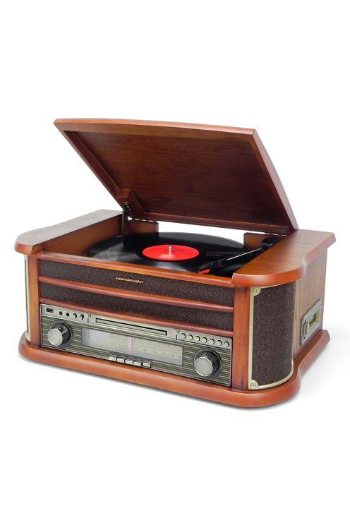 Soundmaster Retro skivspelare NR540