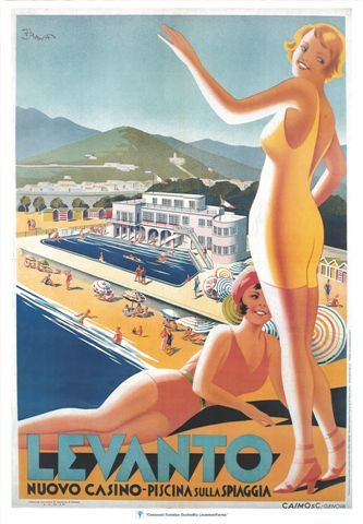 So many great memories of Levanto. Lazy summers spent with Dutch and Italian friends, drinking iced Twinnings near the pool at the Casino.