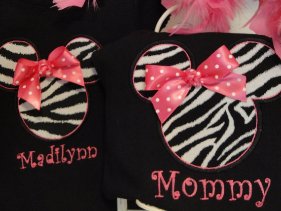 Adorable!: Mommy And Me Minnie Shirts, Disney Minnie, Mouse Birthday, Vacations Shirts, Minnie Mouse, Birthday Vacations, 1St Birthday, Shirts Idea, Disney Idea