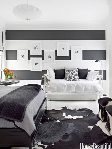 How To Decorate With Black-and-White & 112 best Monochrome images on Pinterest | Home ideas Bedroom and My ...