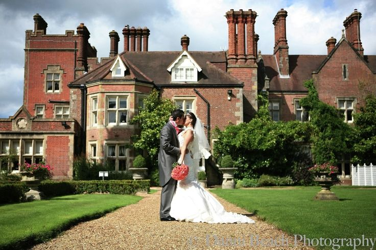 True loves kiss! At Alexander House Hotel; wedding venue near East Grinstead, West Sussex.