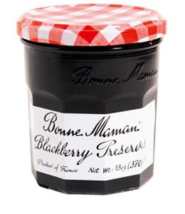 Jams and preserves are a good way to incorporate blackberries, a fruit associated with Michaelmas, into your seasonal celebration--Sparrow Tree Square likes the variety produced by French brand Bonne Maman.