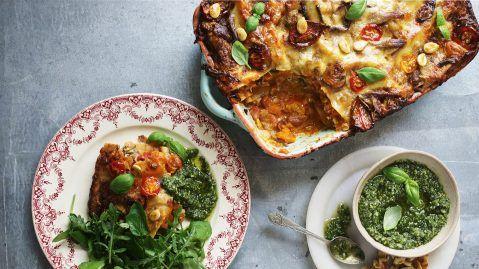John Bishop's Ultimate Veggie Lasagne - Gusto