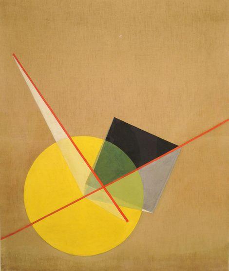 László Moholy-Nagy, Yellow Circle on ArtStack #laszlo ...
