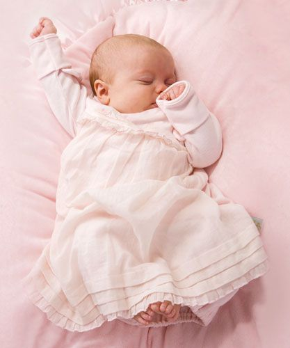 Bunnies by the Bay Girlie Gown-bunnies by the bay, gown, take home, baby, girl, sweet, pink, soft, gift, baby, shower