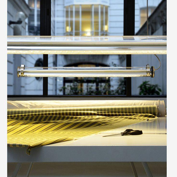 Sammode Studio Cézanne suspension Shop lighting, luminaire pour boutique, luminaire industriel, design industriel