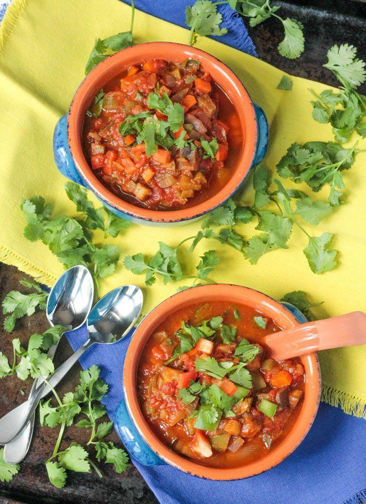 Spicy Beanless Garden Chili
