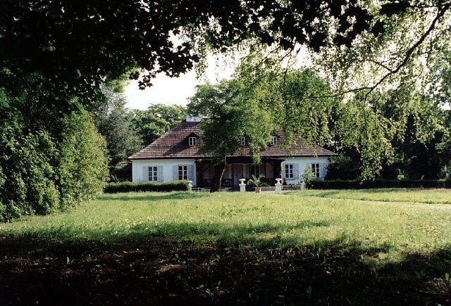XVIII c. Dwór Turowa Wola, gm Kowiesy, woj. Łódzkie