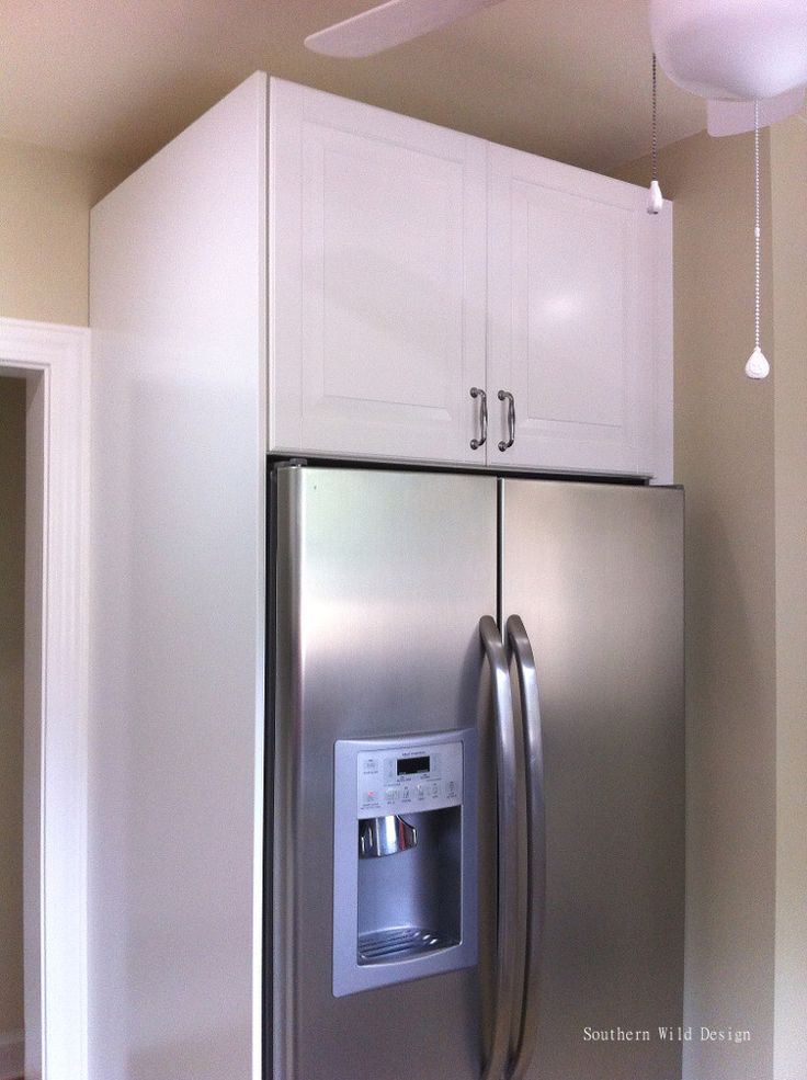 Over the fridge cabinet