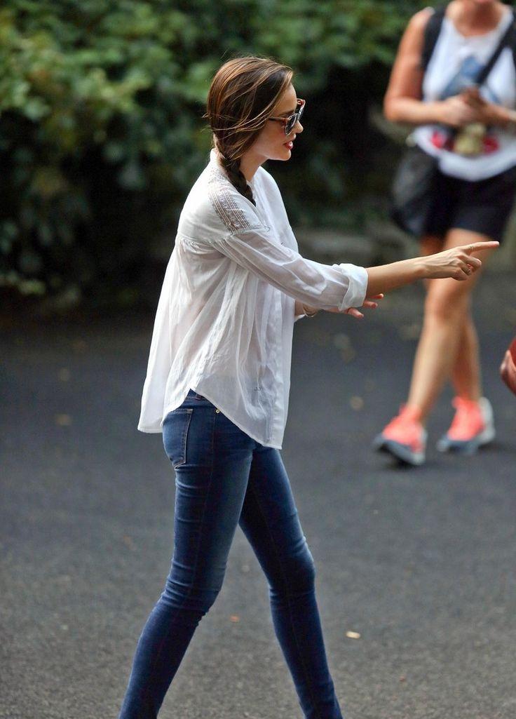 9 12 13 Miranda Kerr At Central Park In Nyc Street