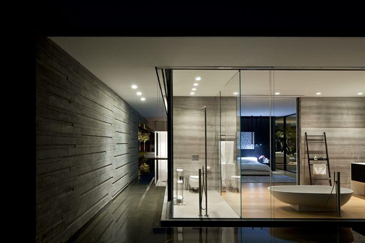 Pitsou kedem architects float house dormitorio for Arquitectura prefabricada