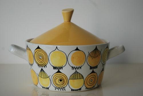 Rorstrand Sweden Picknick Onion Lidded Pot Terrine Marianne Westman | eBay