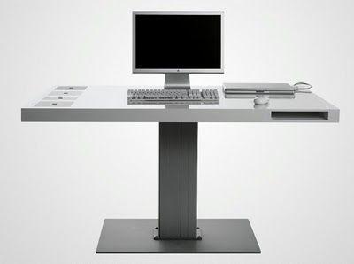 Modernas mesas para computadoras de diseño minimalista : Decorando Mejor